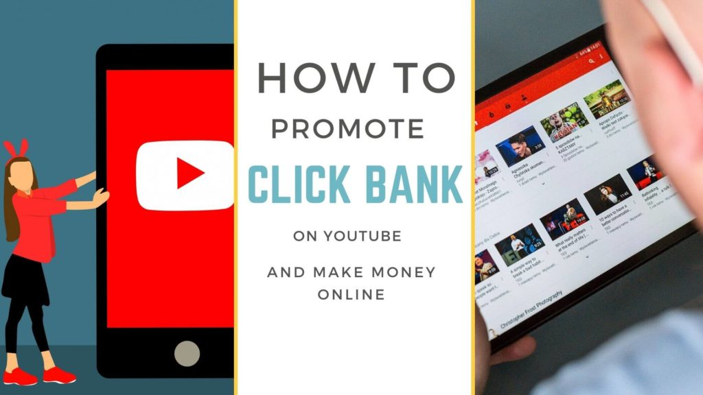 Promoting click bank products on youtube