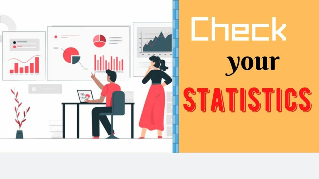 check statistics