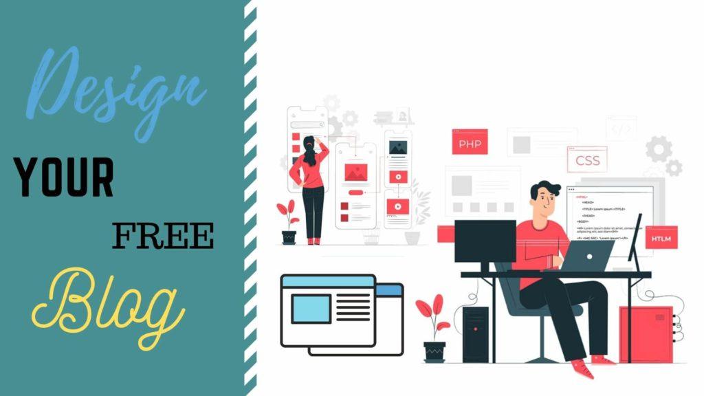 Design blog for free