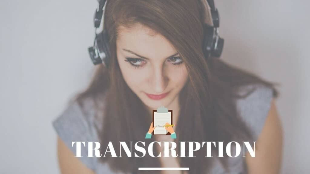 Earning money with transcription as a student in India